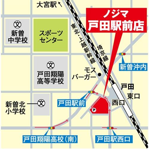 戸田駅前店の駐車場情報