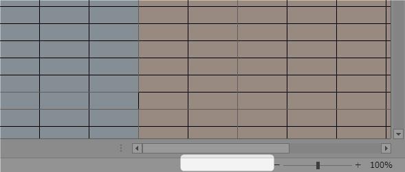 ステータスバーに改ページプレビューのショートカットが表示されていない図