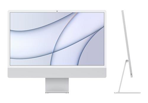 iMac シルバー 2021年春発売モデル Retina 4.5Kディスプレイモデル   8コアApple M1チップ   メモリ8GB   JAN:4549995196573
