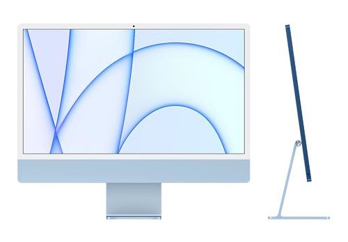 iMac MGTF3JA ブルー ★2021年春発売Retina 4.5Kディスプレイモデル   8コアApple M1チップ   7コアGPU   メモリ8GB   SSD 256GB   JAN:4549995241891