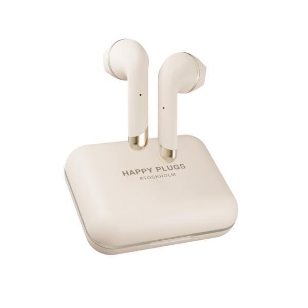 【HAPPYPLUGS ハッピープラグス】 イヤホン AIR 1 PLUS EARBUD 【ワイヤレス(左右分離)/Bluetooth/リモコン・マイク対応/ゴールド】 AIR1PLUSEARBUD-GD
