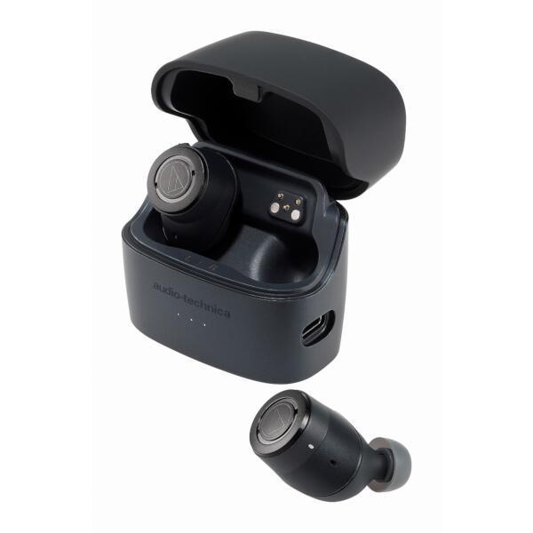 【audio-technica オーディオテクニカ】 イヤホン【ワイヤレス(左右分離)/Bluetooth/リモコン・マイク対応/ノイズキャンセリング対応】 ATH-ANC300TW