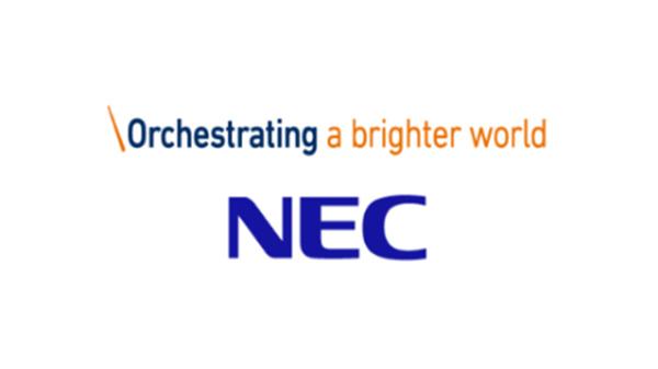 NECのロゴ