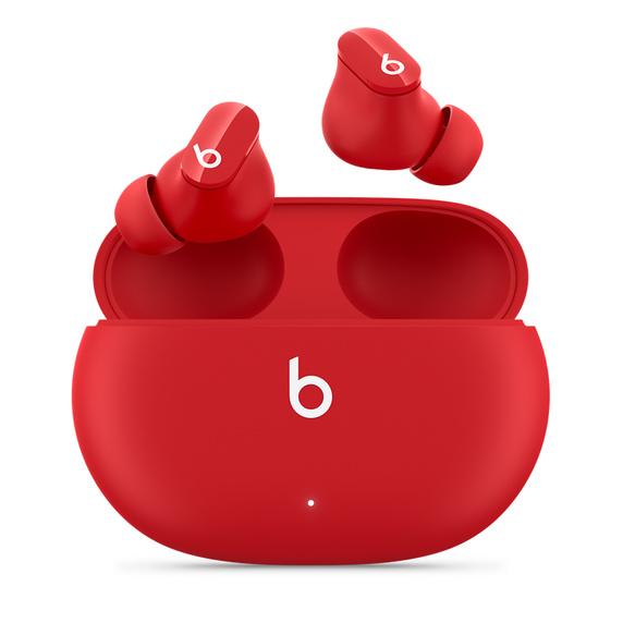 【Beats ビーツ】 Beats Studio Buds【完全ワイヤレスイヤホン/ノイズキャンセリング/外音取り込み/耐水/Bluetooth/マイク対応/レッド/BeatsRed】MJ503PAA