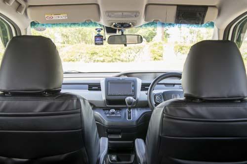 ドライブ車内