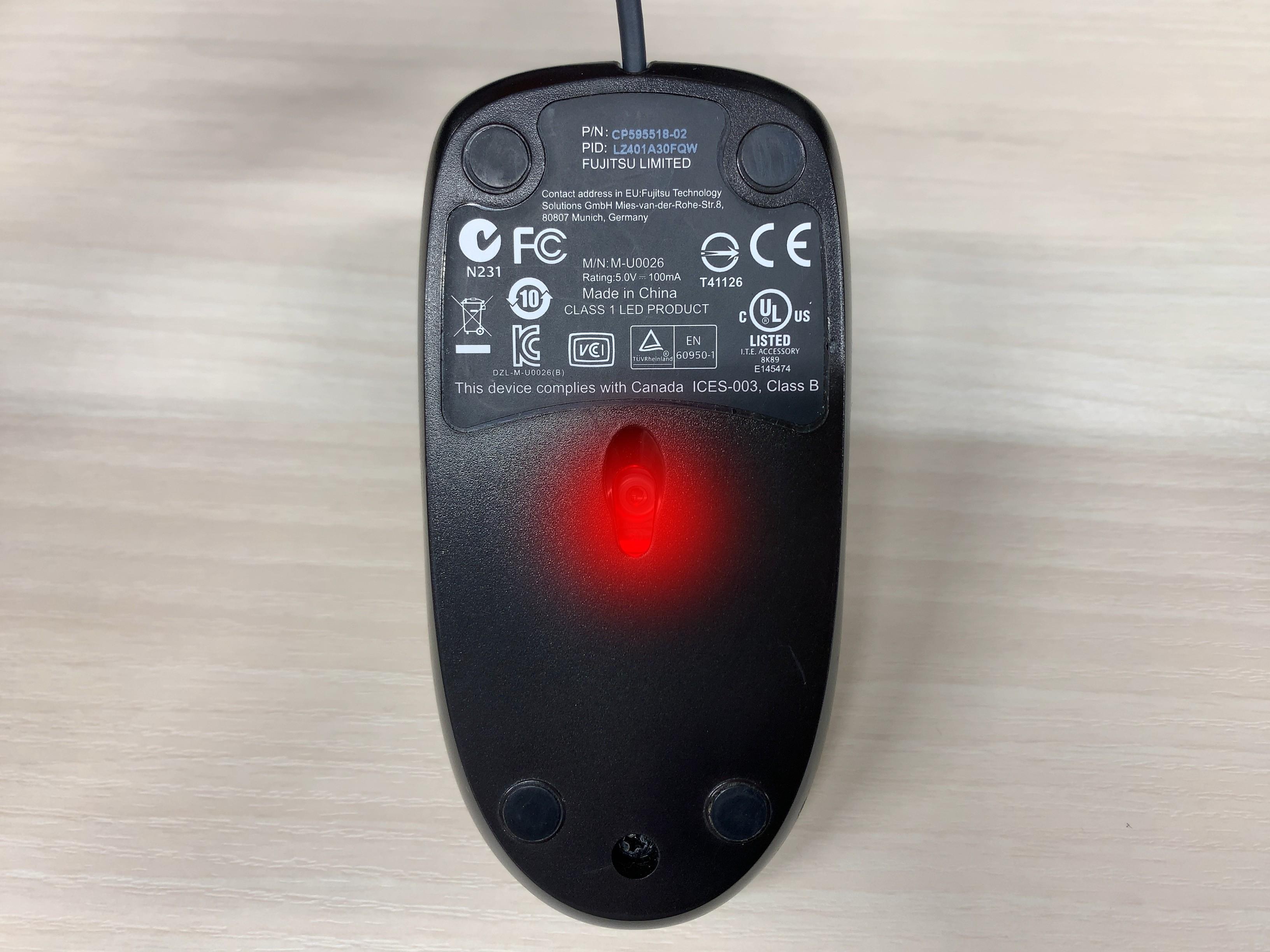 光学式マウス