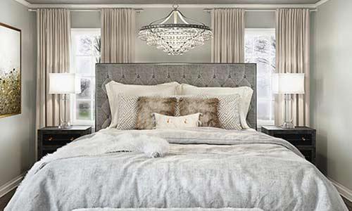 キングサイズのベッドのイメージ画像