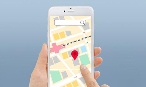 地図アプリのイメージ画像