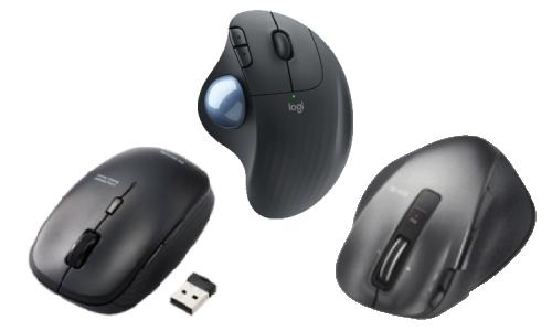 ワイヤレス(無線)マウスの特徴