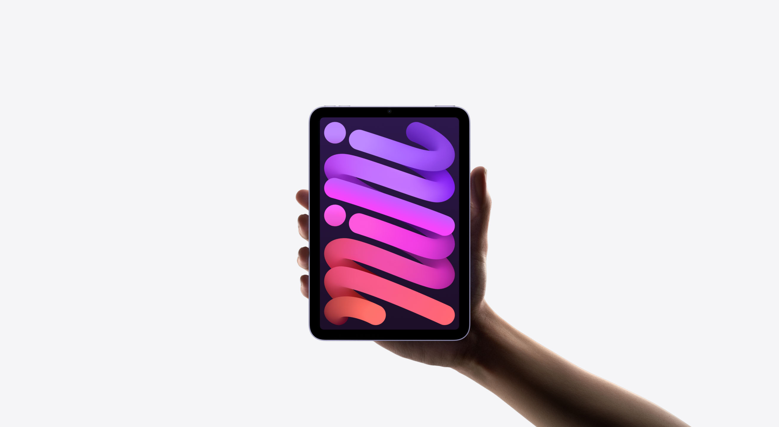 iPad miniが最もコンパクトで軽い