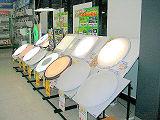 LED照明コーナー