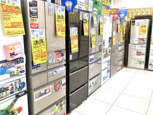 冷蔵庫コーナー