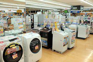 冷蔵庫・洗濯機コーナー