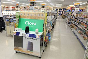 Clovaコーナー