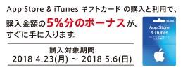AppStore&iTunesキャンペーン