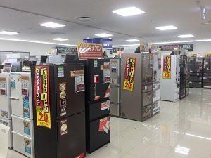 冷蔵庫 コーナー